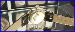 1929 Antique Vintage V Rare Rolex Rolco Oyster Quatrefoil Dial Fully Serviced