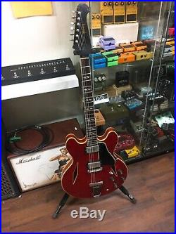 1967 Gibson Trini Lopez Original Vintage Rare Cherry Red ES-335 Semi Hollow