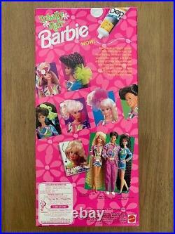 1991 RARE Vintage Totally Hair Blonde Barbie Mattel NRFB NIB