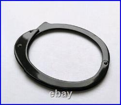 2004 HELMUT LANG OG Handschelle Armband Schwarz Archive Vintage RARE Handcuff