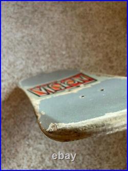 33 Years Old Vision Mark Rogowski Gator Skateboard (rare Glitter-silver Dip)
