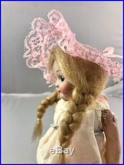 7 Antique German Bisque Head Heubach 9573 Googly Doll! Rare! Adorable! 18046