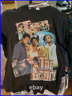 90s THE FUGEES LAURYN HILL The Score bay club Rare Vintage Rap Tee T Shirt 2X