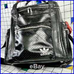 Adidas Run DMC Superstar 35th Anniversary Leather DJ Record Vinyl LP Bag RARE