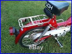 Antique 1977 Vintage Puch Maxi Moped 2 h. P rare 200 original miles last chance