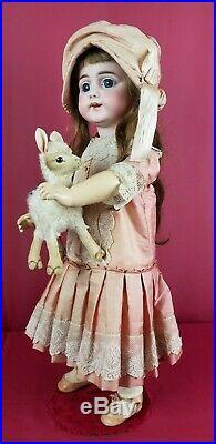 Antique German Bisque Head Doll Simon Halbig 719 S12H DEP RARE Mold Adorable