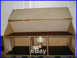 Antique Tynietoy New England Townhouse Model Dollhouse Early and Rare