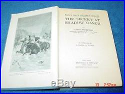 Antique Vintage Book Nancy Drew The Secret at Shadow Ranch Rare