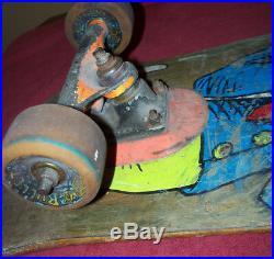 BLIND JASON LEE Cat in the Hat Vintage 90's Complete Skateboard 80's RARE HTF