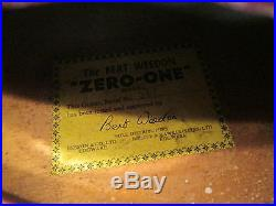 Bert Weedon Zero-One vintage electric guitar amazing and very rare 1959-62