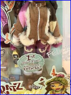 Bratz Campfire Doll Felica by MGA Rare 10 inches Tall New In Sealed Package