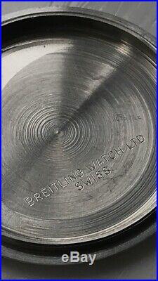 Breitling Sprint 2212 Vintage Chronograph Watch. Valjoux. Rare. Surfboard Dial