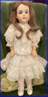 C1890 23 Antique German RARE Closed Mouth 183 French Type Doll So Called Belton