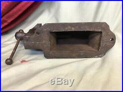 Charles Parker No. 3 Bench Anvil Vise 1877 Antique Vintage Rare Blacksmith