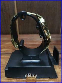 Citizen Ana-Digi temp Watch Original model GOLD Retro Vintage Rare