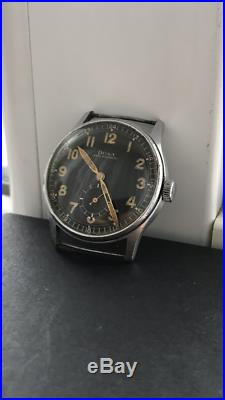 Doxa German military WWII Rare Hystorical Watch for mens vintage