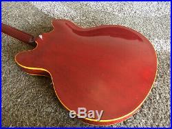 GRECO SUPER REAL ES335 Japan Vintage Jazz Archtop Semi Acoustic Rare Lawsuit