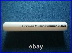 HERMAN MILLER ART POSTER Stephen Frykholm PICNIC 2012 VINTAGE RARE