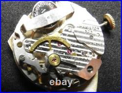 Hamilton Altair Electric Watch SUPER RARE Original Band