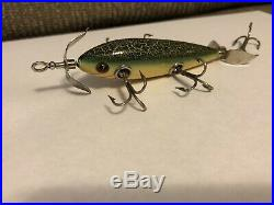 Heddon #150 Dowagiac minnow With Wood Box And Paperwork Nice Extremely Rare