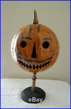 INCREDIBLY RARE 1900's Toledo Ohio Antique Vintage Halloween Parade Lantern