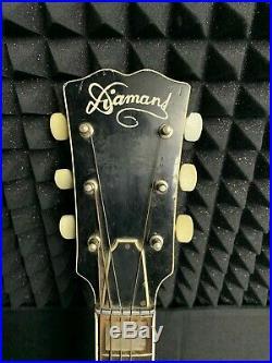 JOLANA DIAMANT LP Electric Guitar RARE Czech Soviet Vintage USSR