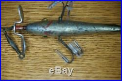 Kent Friend Pardee 1900 Minnow Double Spinner/Troy Minnow Pflueger Rare 3 Hook