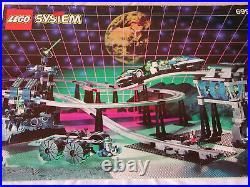LEGO Space Unitron 6991 Monorail Transport Base with instructions, RARE