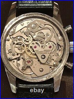 Le Jour vintage chronograph watch Rare Model
