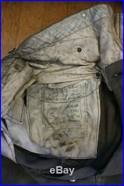 Levi Strauss 1890s RARE Spring Bottom Pants Blue Jeans Levi's Denim Mining