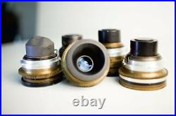 Lomo Lenkinap Brass Cine Oct-19 5 Lens Rare++