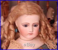 Magnificent & Rare, All Original Antique 21 Jumeau Portrait Fashion Doll