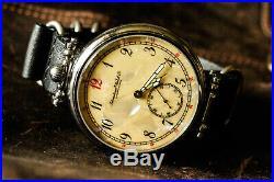 Mens WATCH International Watch C. Schaffhausen Vintage Rare Hand Watch 3602