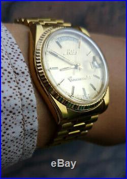 Mido Commander Day Date super rare Mens watch Vintage Mido 8299 SWISSMADE