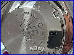 Mint Condition Super Rare Vintage Seiko 6138-8020'panda' Chronograph