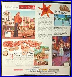 New and Rare On Location 2005 South Beach Barbie Doll Best Models NRFB J0943