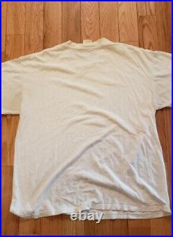 Nirvana Vintage Tee Shirt 1996 Band XL Rare 90's Wild Oats Kurt Cobain Grunge