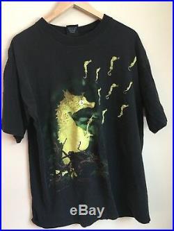 Nirvana seahorse t shirt ORIGINAL 1993 XL vintage GIANT Brand Rare