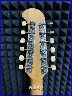 ORFEUS ORPHEUS 12-STRING Semi-Hollow Electric Guitar RARE Soviet Vintage USSR
