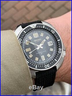 ORIGINAL 1974 Seiko 6105-8110 APOCALYPSE NOW divers 150m RARE ICONIC WATCH