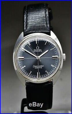 Omega Seamaster Cosmic Automatic Excellent ref165.023 cal 552, rare dial, 1968