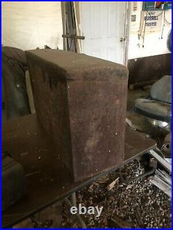 Original 1920's Essex Luggage Rack Mount Potter Trunk Enclosure Antique Car