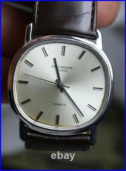 Patek Philippe GUBELIN 18K Solid Gold ELLIPSE 36 MM SWISS AUTOMATIC Watch RARE
