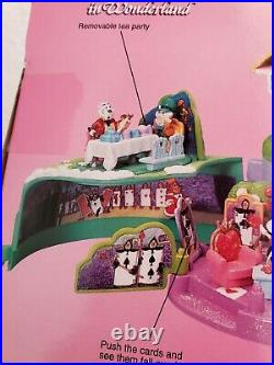 Polly Pocket ALICE IN WONDERLAND TINY COLLECTION ULTRA RARE! NEW! 1995