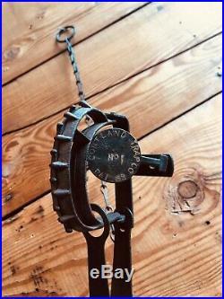 RARE Antique Animal Trap CORTLAND TRAP CO 1889 No. 1 Single Spring Should Catch