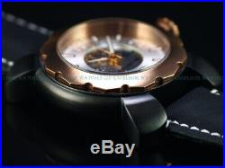 RARE Invicta Espadon Skeleton Automatic Swiss 26 Jewel Sellita SW200 Black Watch