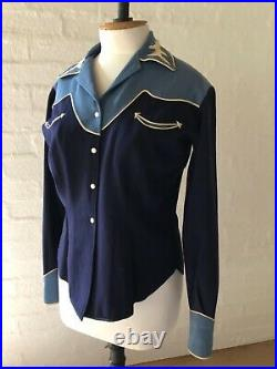 RARE MARGE RILEY VINTAGE WOMENs 1940s Western/Cowgirl Suit