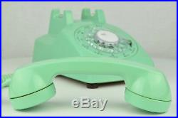 RARE Meticulously Restored Vintage Antique Rotary Telephone- Mint Green 500