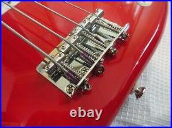 RARE Vintage 1994 Fender Squier Series Black logo MIM Precision P bass guitar