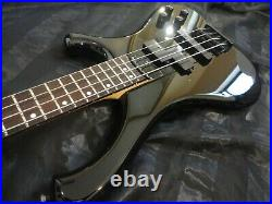 RARE Vintage 1995 Jackson JPB-7 Professional MIJ 4 string bass guitar black